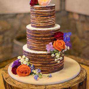 Naked Cake Gluten Free Truffle Layer Cake