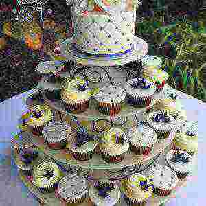 Quilted cup cakes