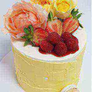 Summertime layered Chocolate Cake